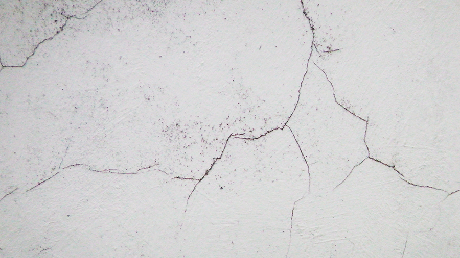 fissures horizontales ou verticales sur un mur. Black Bedroom Furniture Sets. Home Design Ideas